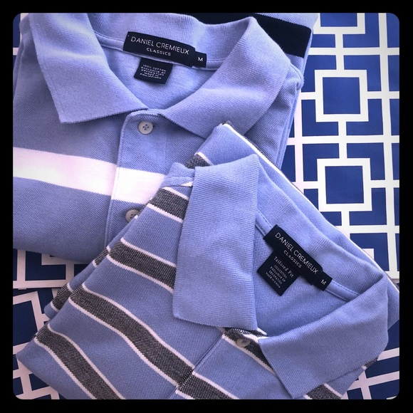 Daniel Cremieux Other - DANIEL CREMIEUX MEDIUM Bundle of 2 Shirt Polo Tops